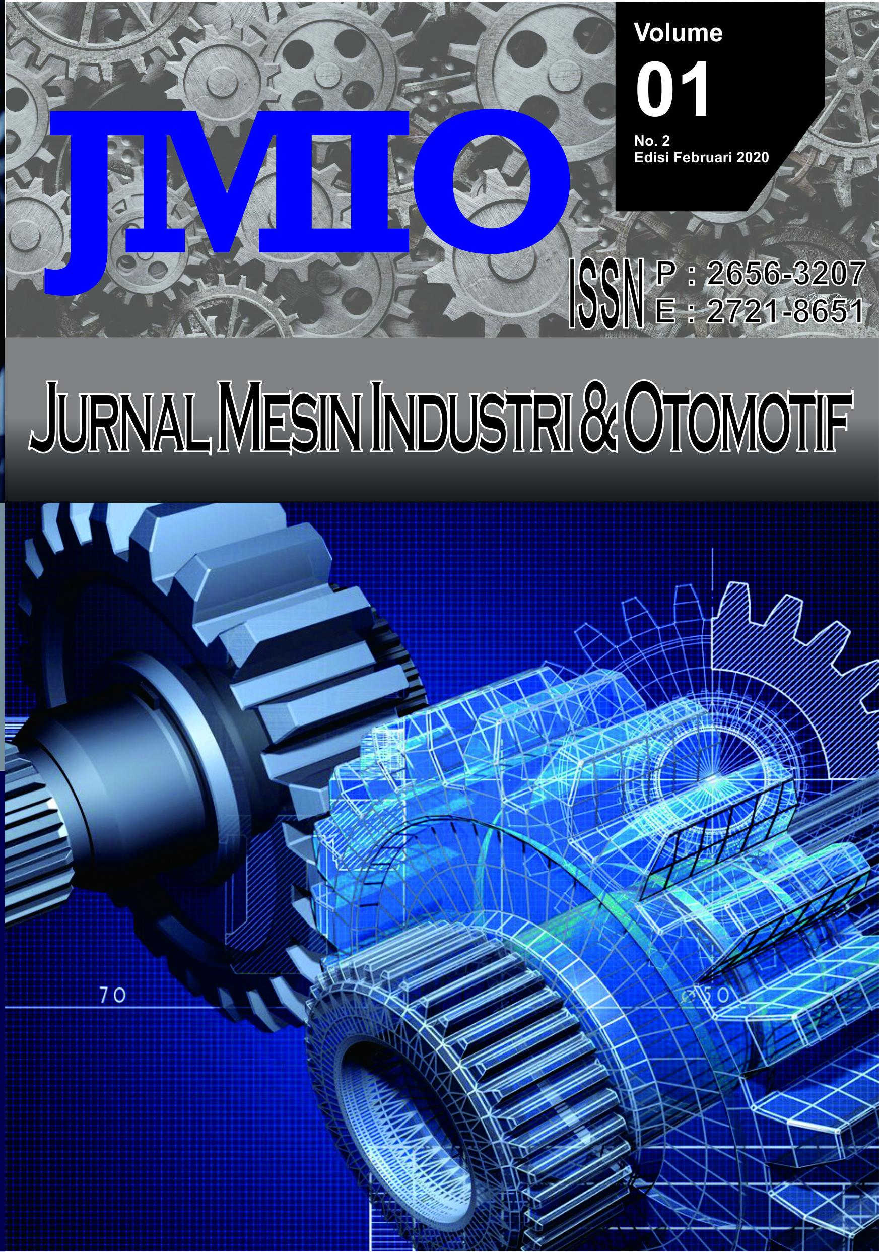 View Vol. 1 No. 02 (2020): Vol. 1 No. 2 (2020): JMIO Mei 2020